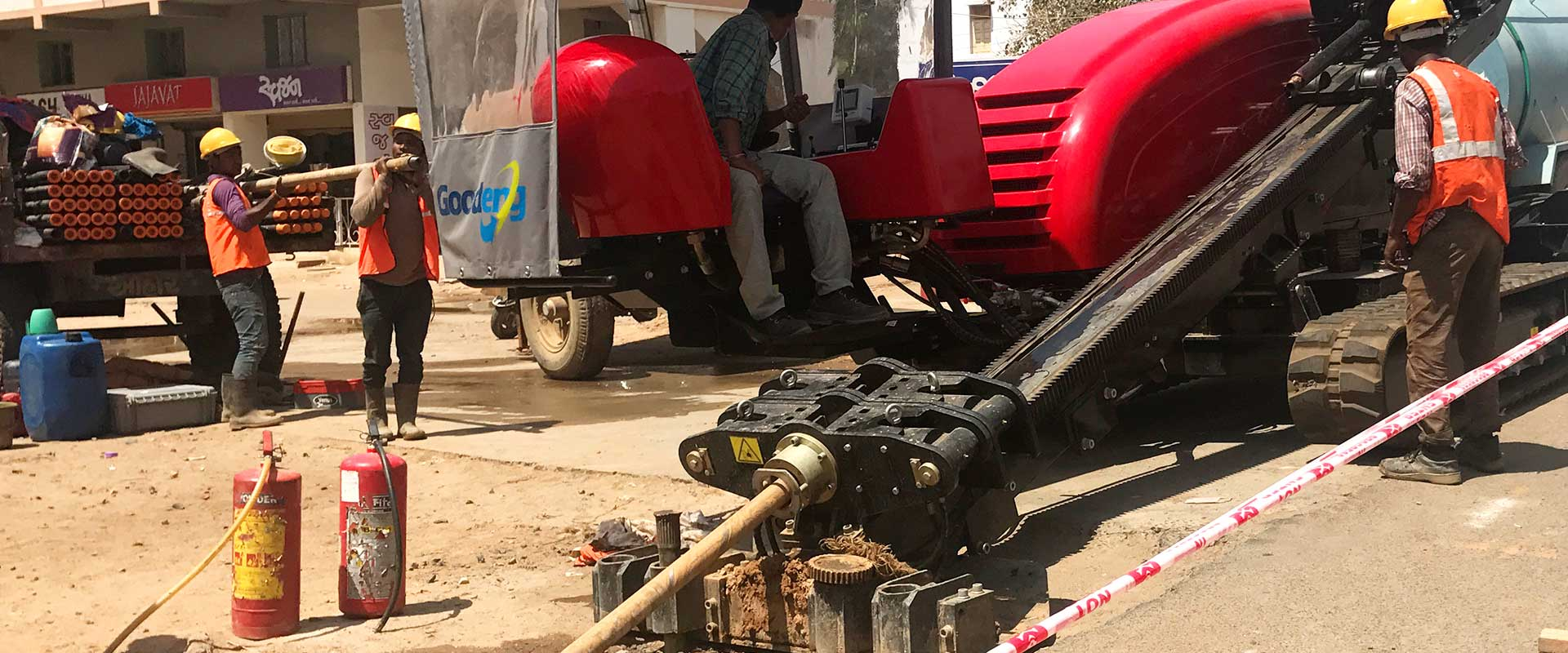 We are the best Horizontal Directional Drilling experts